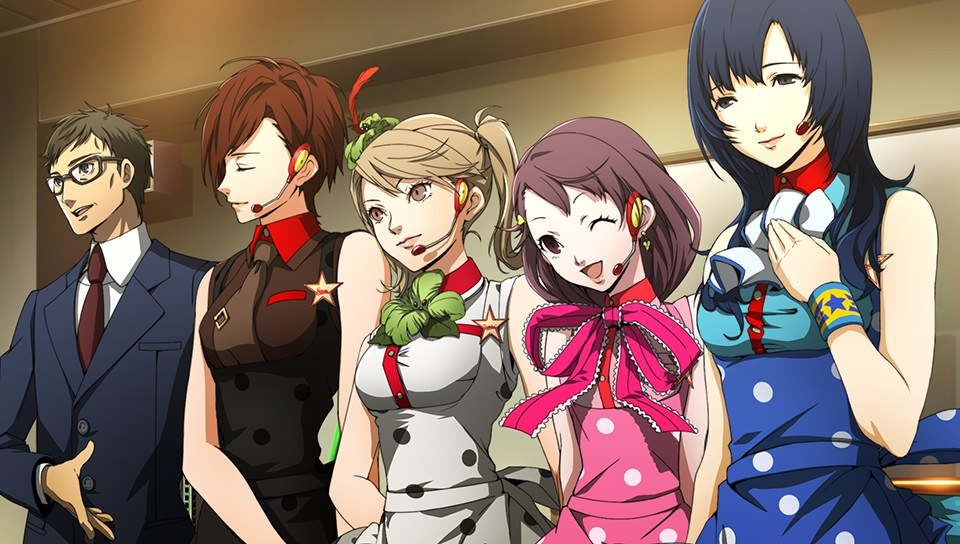 Persona 4: Dancing All Night Kanamin Kitchen