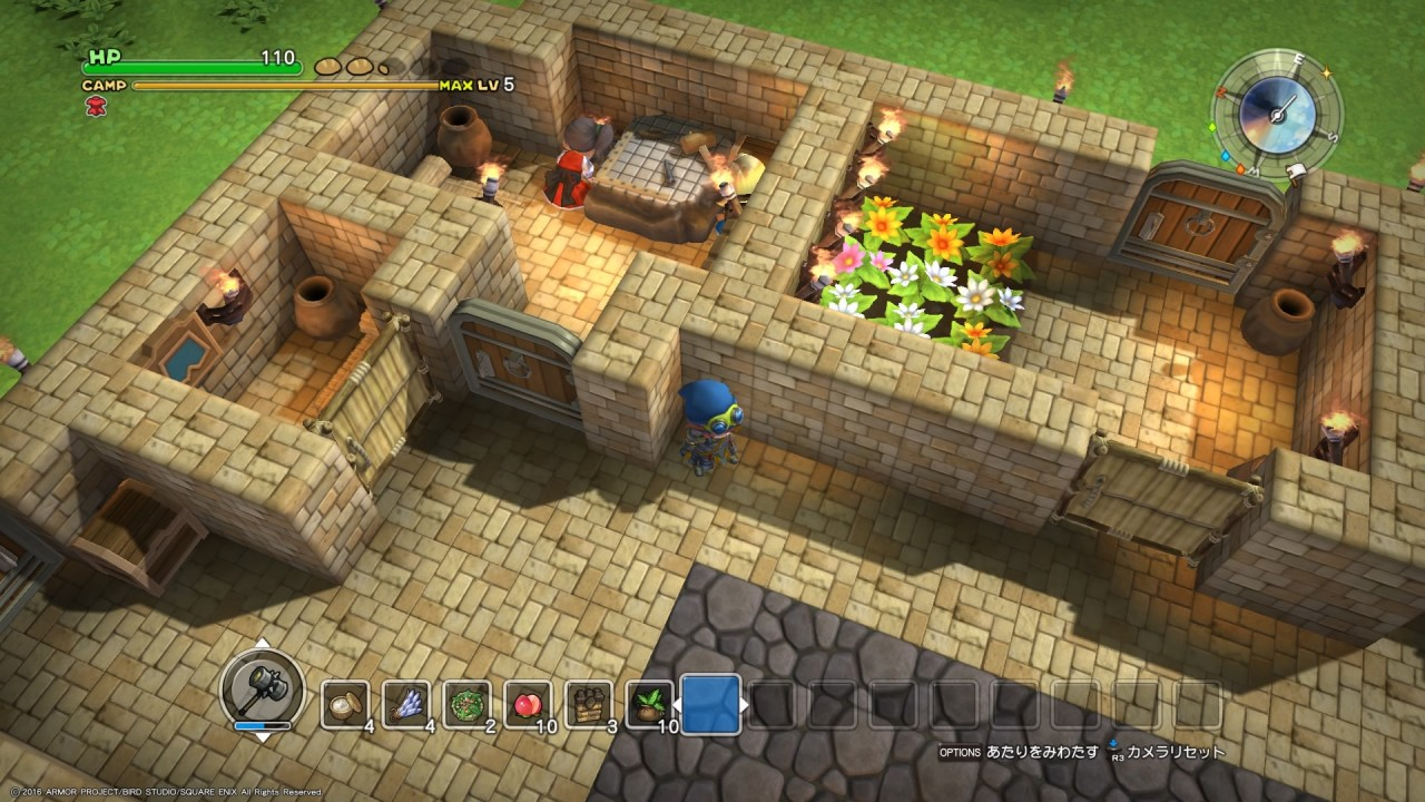 Review Dragon Quest Builders Structure Makes Freedom
