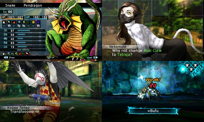 Smt Iv World Map.Review Shin Megami Tensei Iv Apocalypse Continues The End Of The