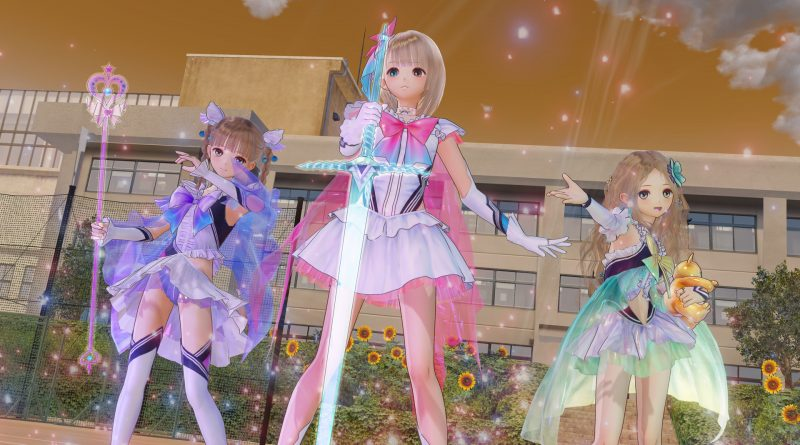 Review: Blue Reflection's a slice of magical girl life