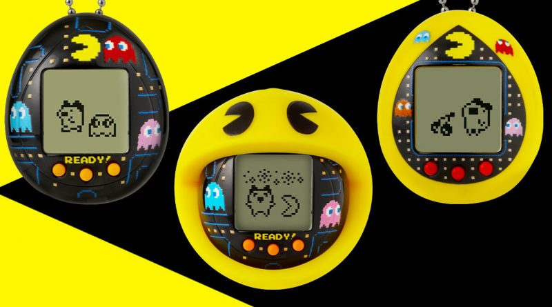 pac man tamagotchi virtual pet